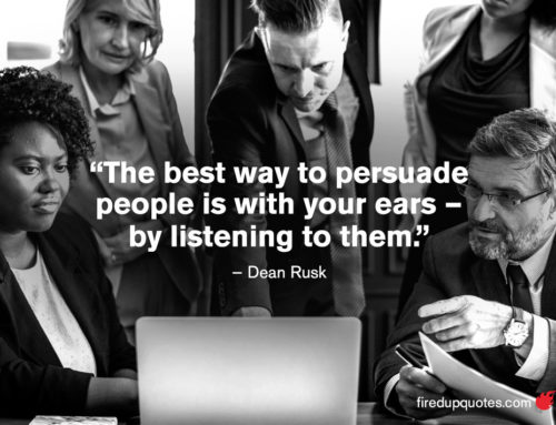 Persuasion Comes from Listening Well